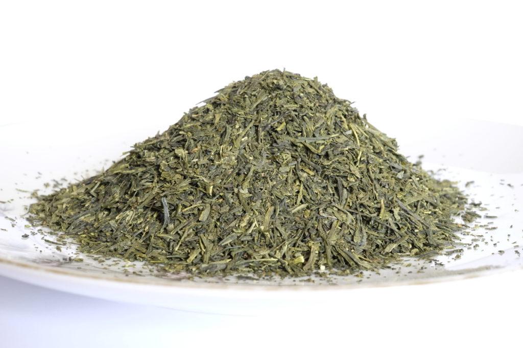 Grüner Tee (Sencha), Blätter - Grundlage zur Extrahierung von EGCG