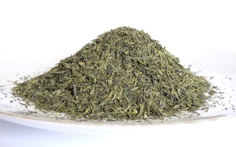 Grüner Tee (Sencha), Blätter
