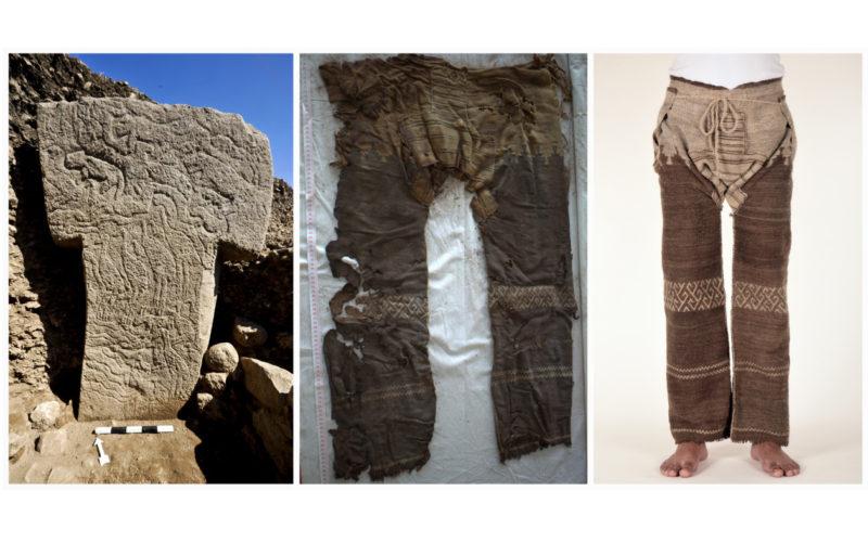 Säule 56 und die älteste Hose der Welt