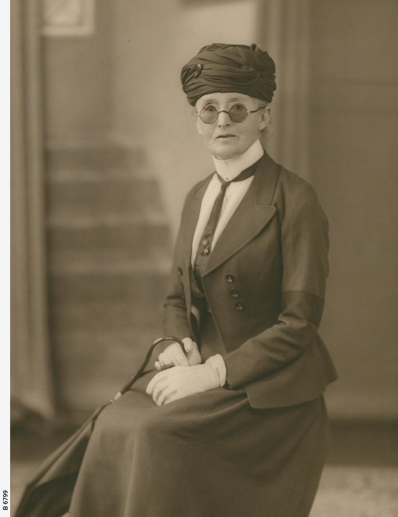 Portrait von Daisy Bates.