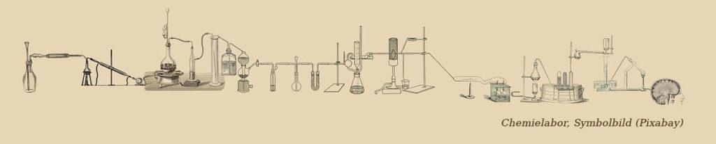 Chemielabor. Symbolbild